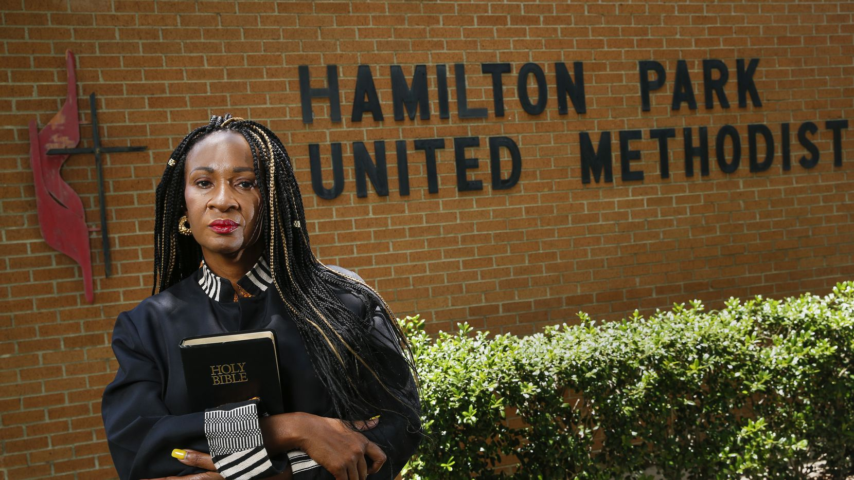 Senior Pastor Sheron Patterson  at Hamilton Park United Methodist Church on Wednesday, June 3, 2020 in Dallas.
