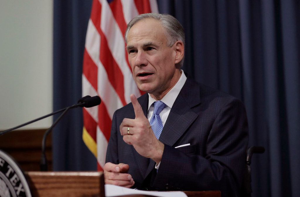 Gov. Greg Abbott announces that there will be a special session of the Legislature in July.