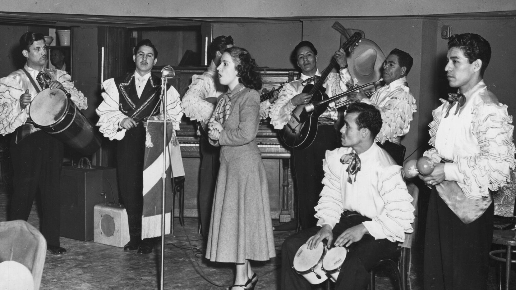 The Joe Azcona Band was a well-known in the area in the 1940s. The group performed at locations including  hotels and the El Fenix ballroom.