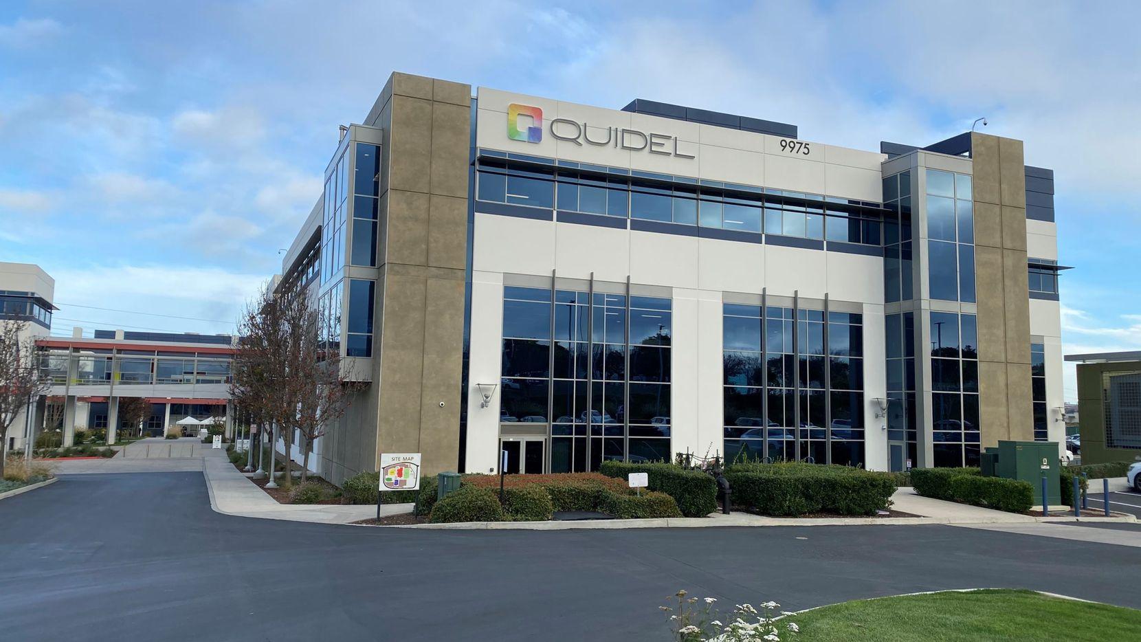Quidel's headquarters are in San Diego.