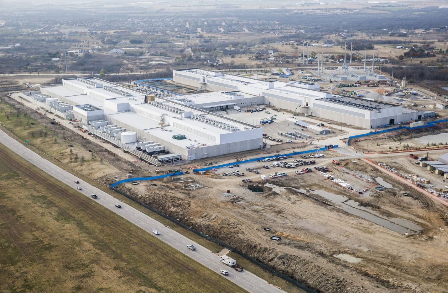 The expansion will be located next to the first phase of the new  Facebook Data Center, which is part of the Alliance Texas development.