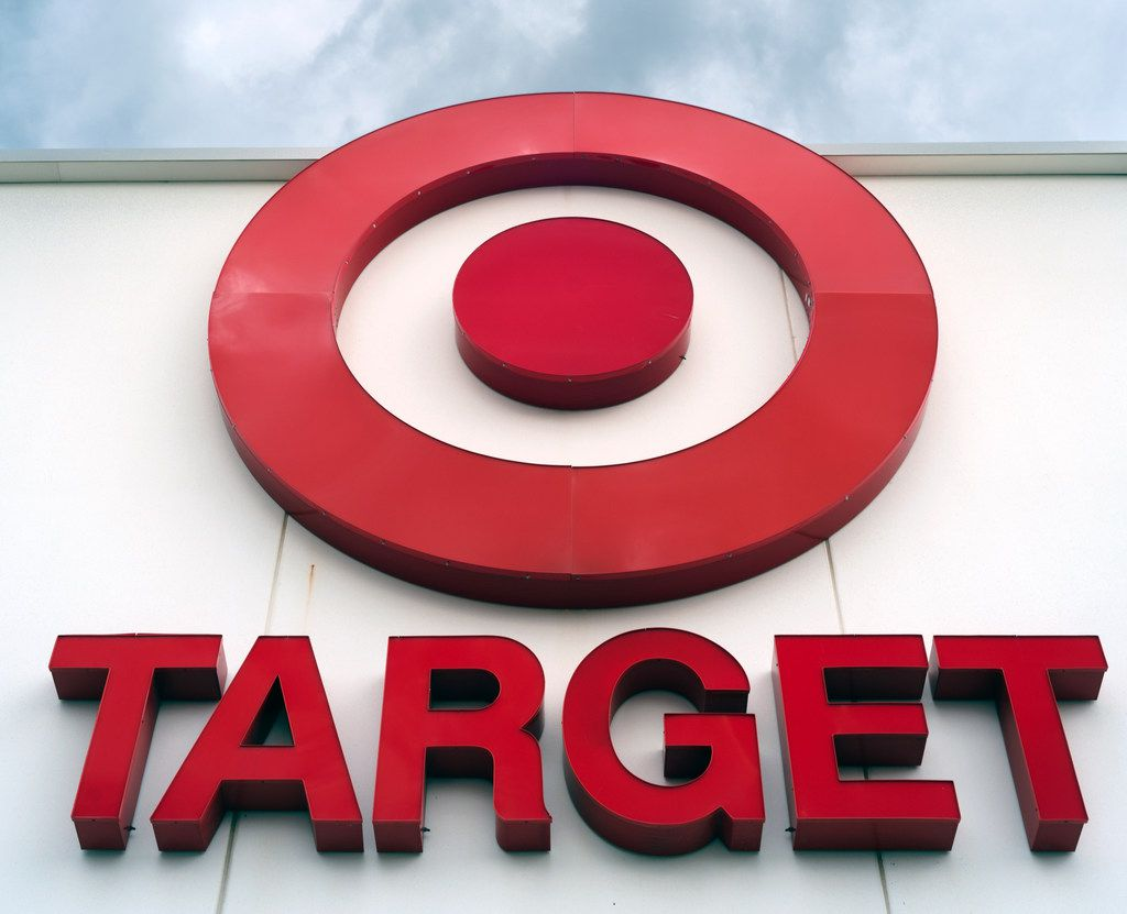 CORRECT OPENING TIME ON THANKSGIVING TO 6 P.M., NOT 5 P.M. - FILE - This Wednesday, May 3, 2017, file photo shows a Target store in Omaha, Neb. Target says it will open at 6 p.m. on Thanksgiving and then close at midnight local time. Its stores will then reopen at 6 a.m. local time on Friday until 10 p.m., 11 p.m. or midnight local time. Target again will offer Black Friday deals on Target.com on the morning of Thanksgiving. (AP Photo/Nati Harnik, File)