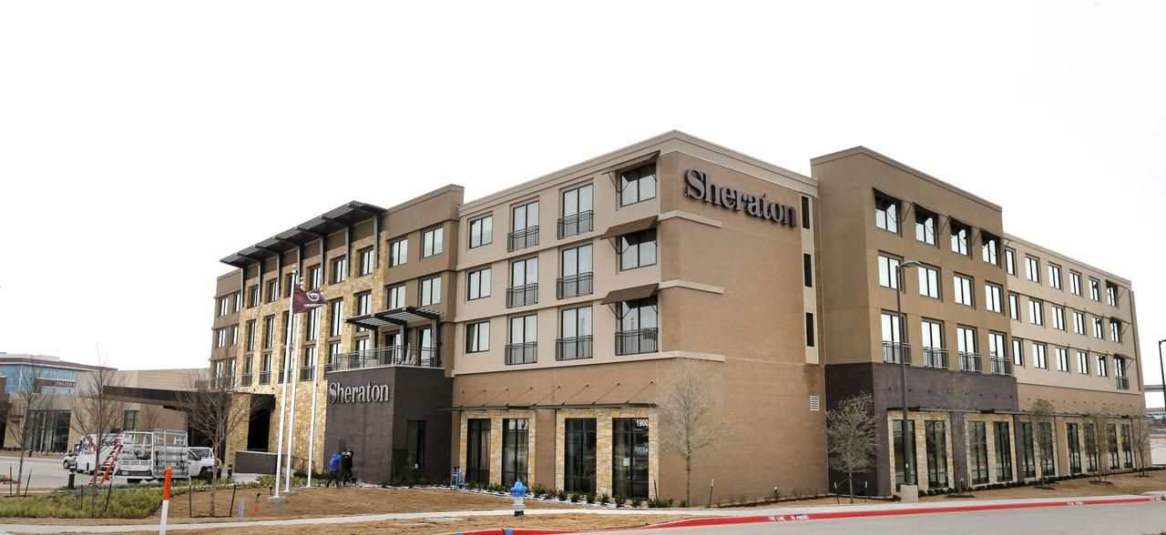 The Sheraton McKinney Hotel and Conference Center is a scaled-down version of the city's failed public-private venture.