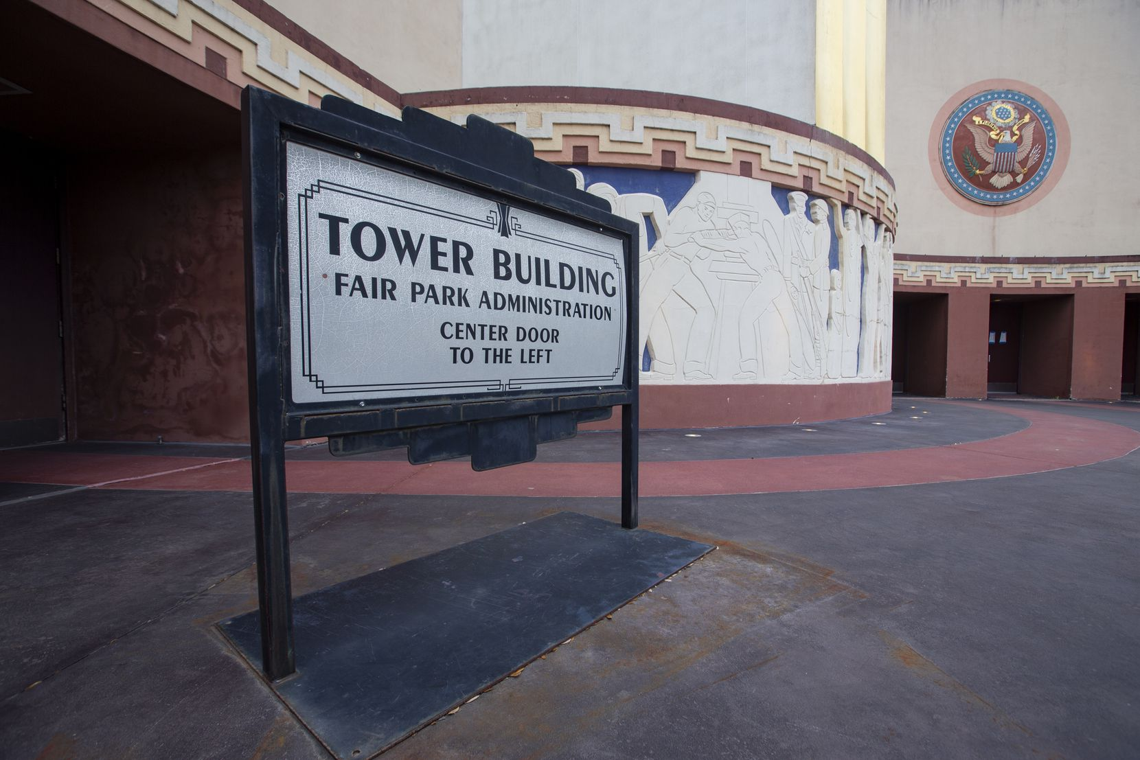 The Tower Building at Fair Park in Dallas photographed on Wednesday, Jan. 7, 2021. (Juan Figueroa/ The Dallas Morning News)