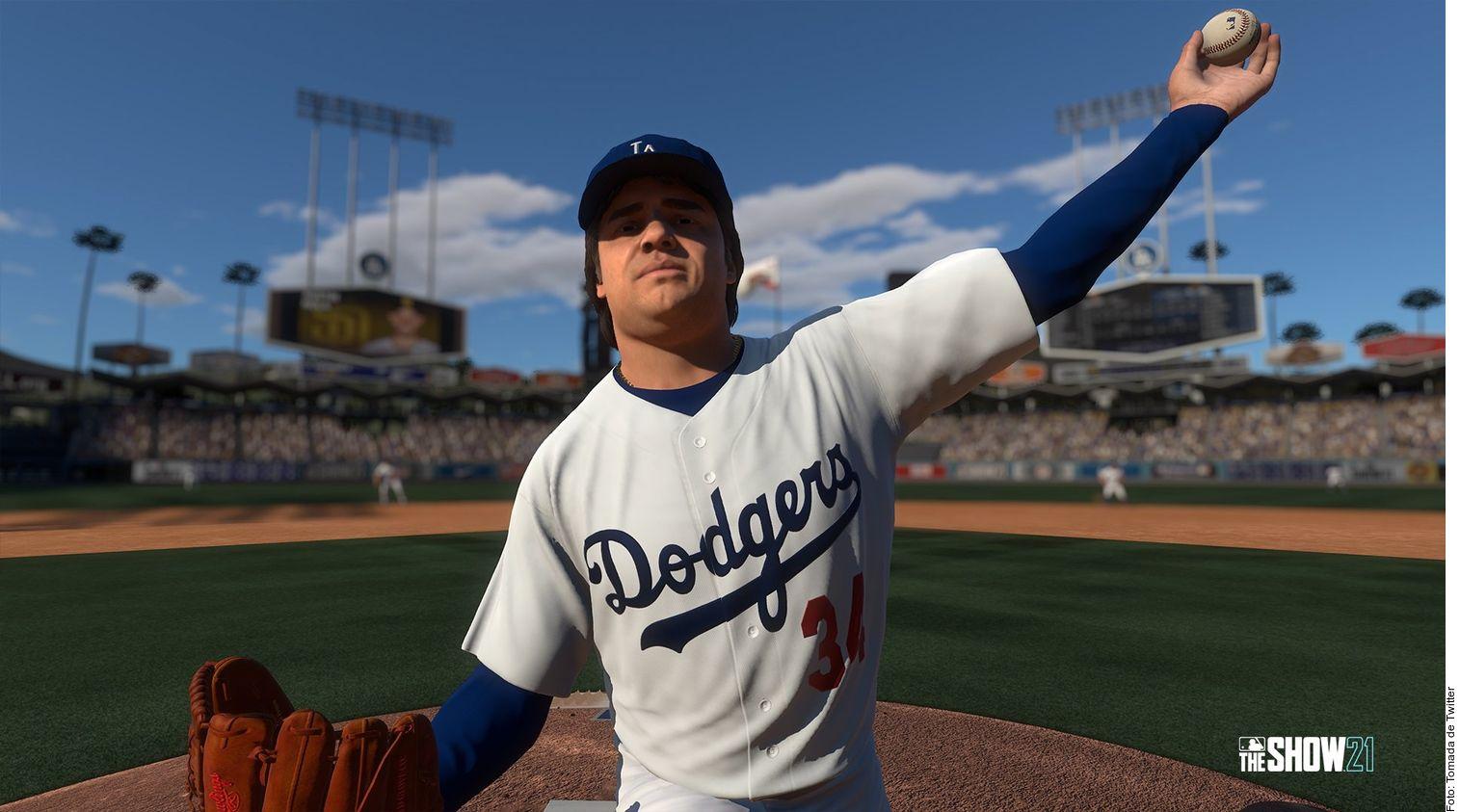 Fernando Valenzuela estará disponible para jugar en MLB The Show 2021.