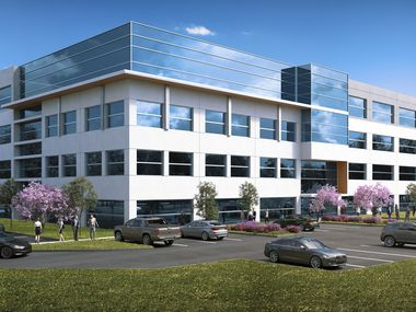 Heady Investments' new Allen building is on U.S. Highway 75.