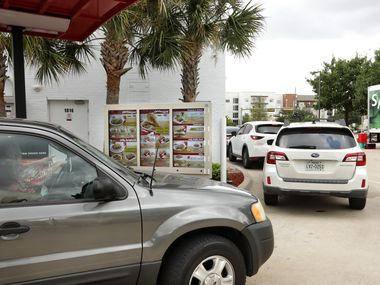 For some customers, it took waiting 2, 3 or 4 hours in the drive-thru to get to the menu board at Jollibee in West Plano.