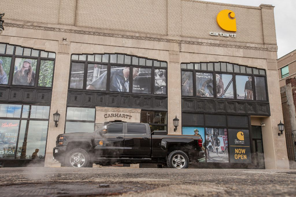 The 2017 Silverado 2500HD Carhartt concept vehicle is a truck built to tackle the toughest jobs while integrating the rugged aesthetics of hard-working lifestyles.