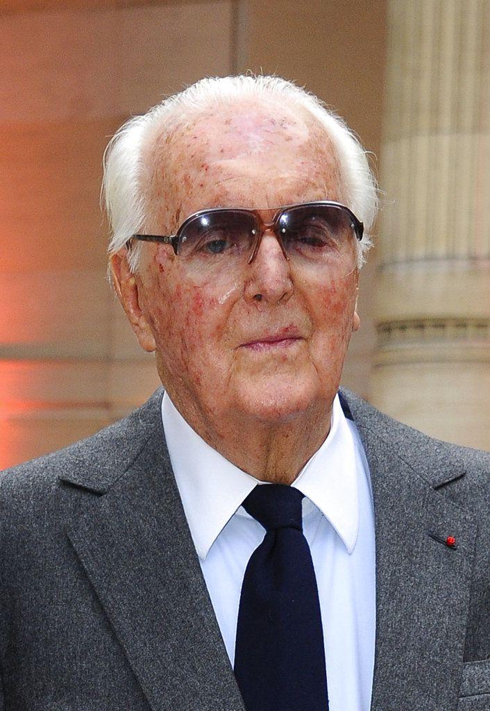 Hubert de Givenchy. Foto AP