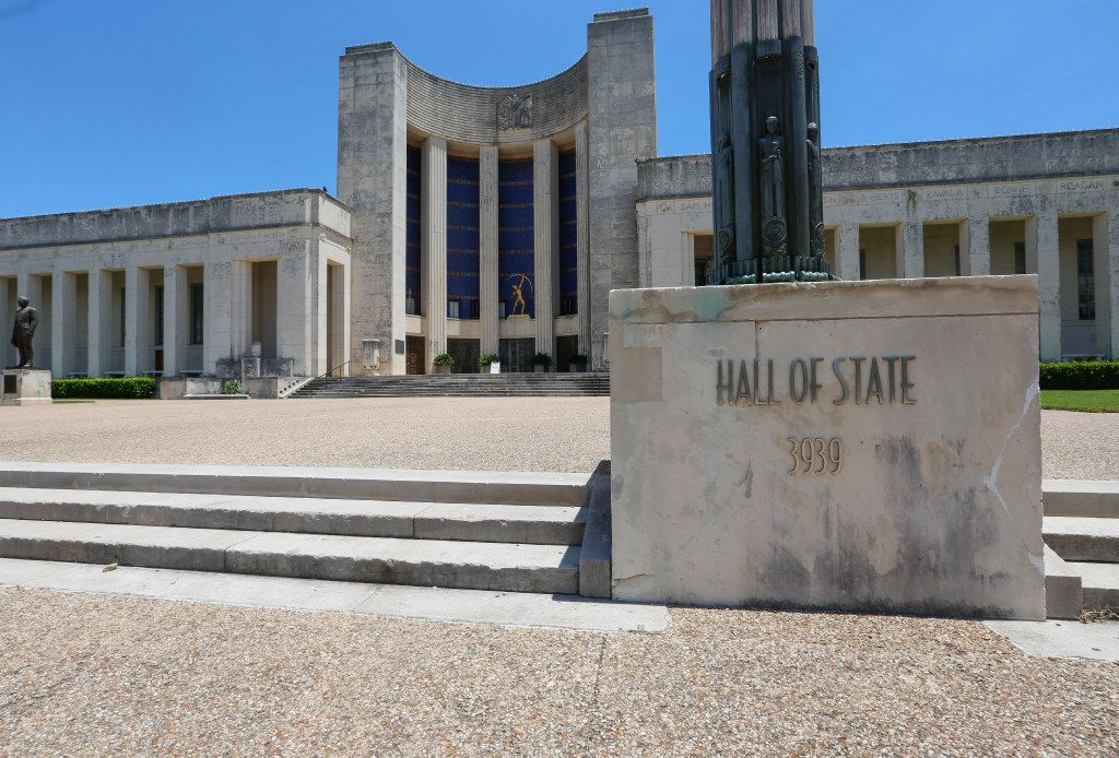 Exterior of the Hall of State building, located at Fair Park, south of downtown Dallas, Texas. Photographed on Thursday July 13, 2017. (Ron Baselice/ The Dallas Morning News)