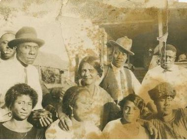 Residents of the long lost community of Quakertown in Denton. It was a hundred years ago that an election booted 80 families out of their homes.