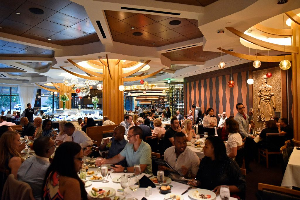 The main dinning hall inside the new Fogo de Ch‹o in Uptown, Friday, May 19, 2017 in Dallas. Ben Torres/Special Contributor