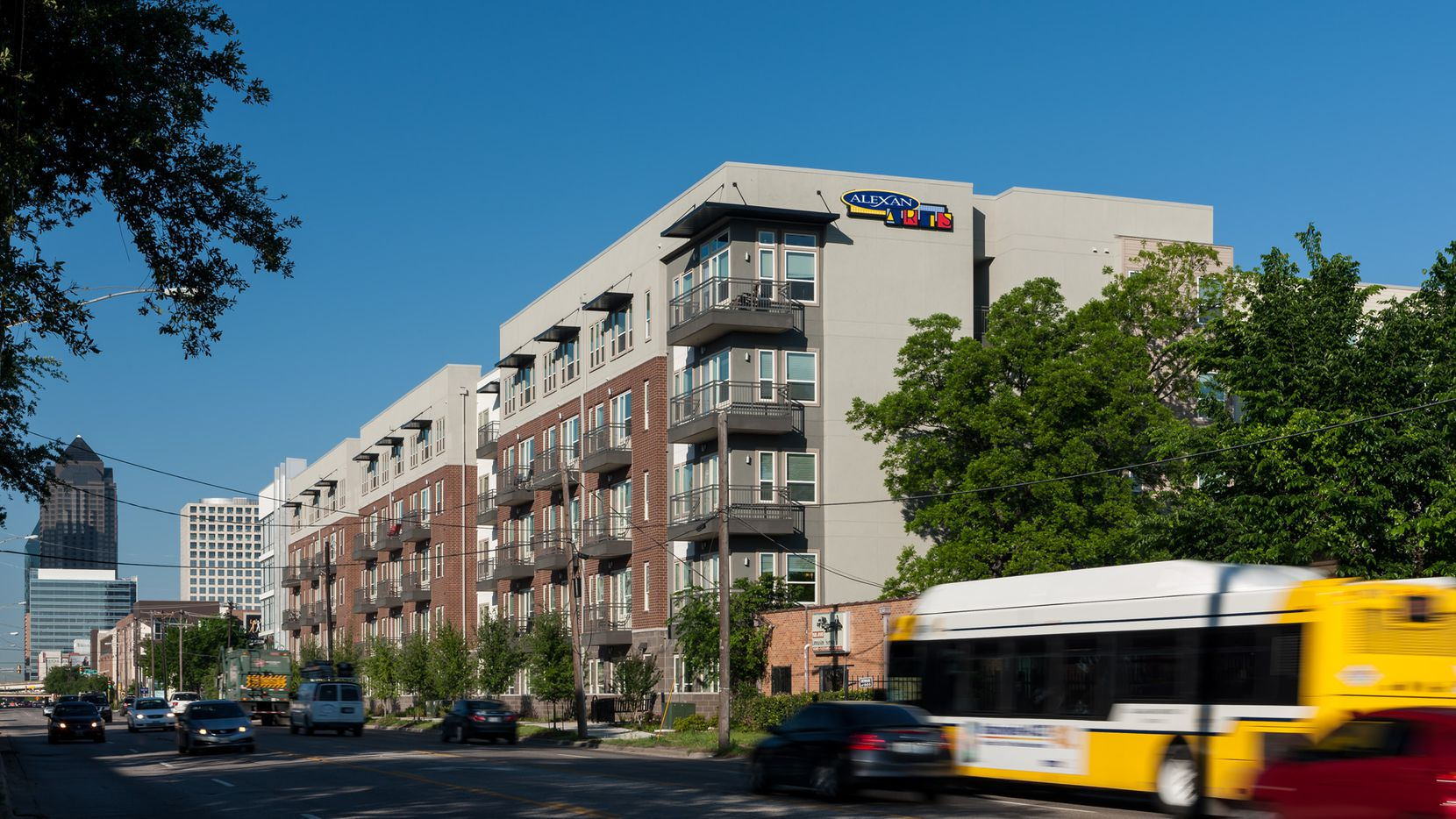 Trammell Crow Residential has built several projects along Ross Avenue.