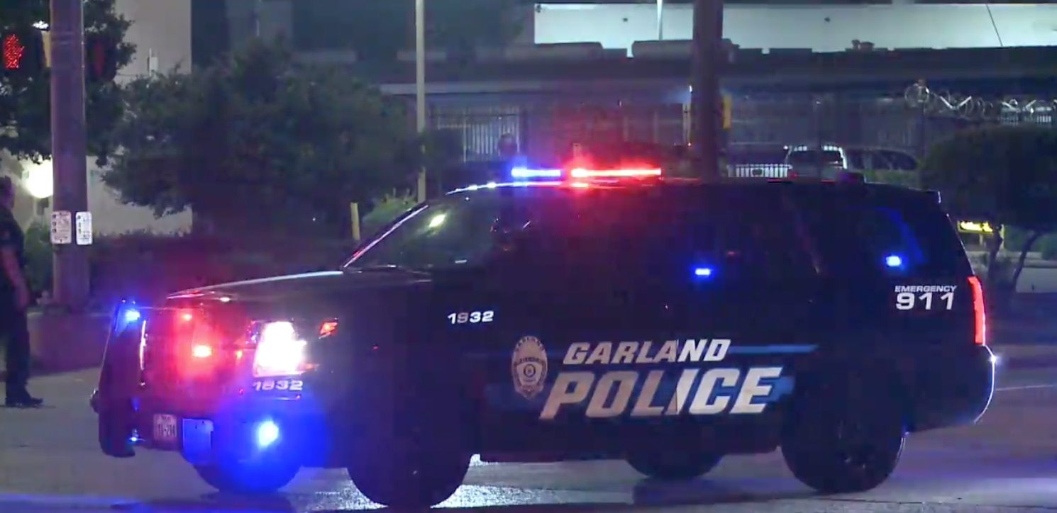 Garland police have arrested a man and charged him with aggravated assault with a deadly weapon after he allegedly stabbed his father.