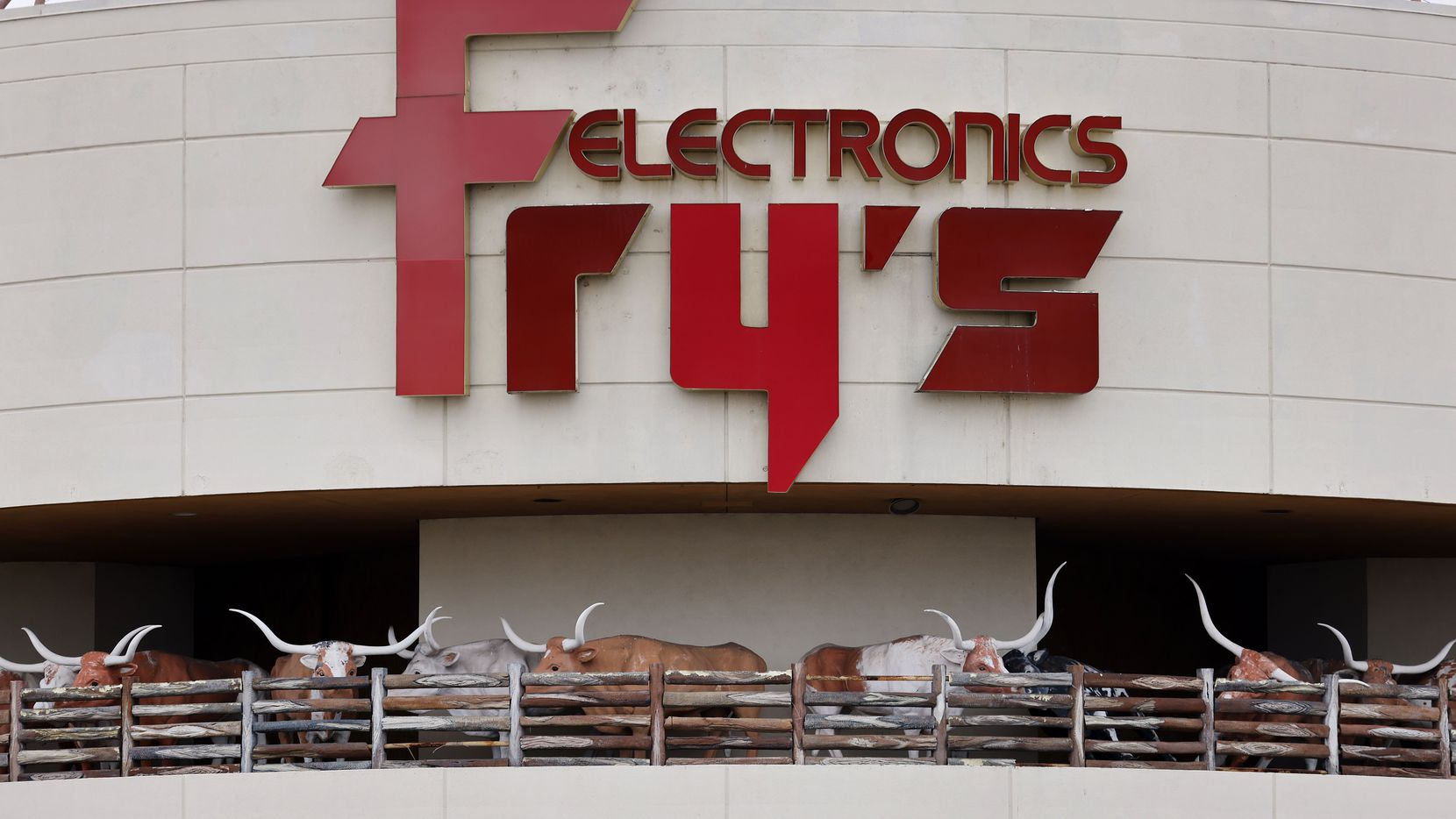 Fry's Electronics closed its North Texas stores in February.