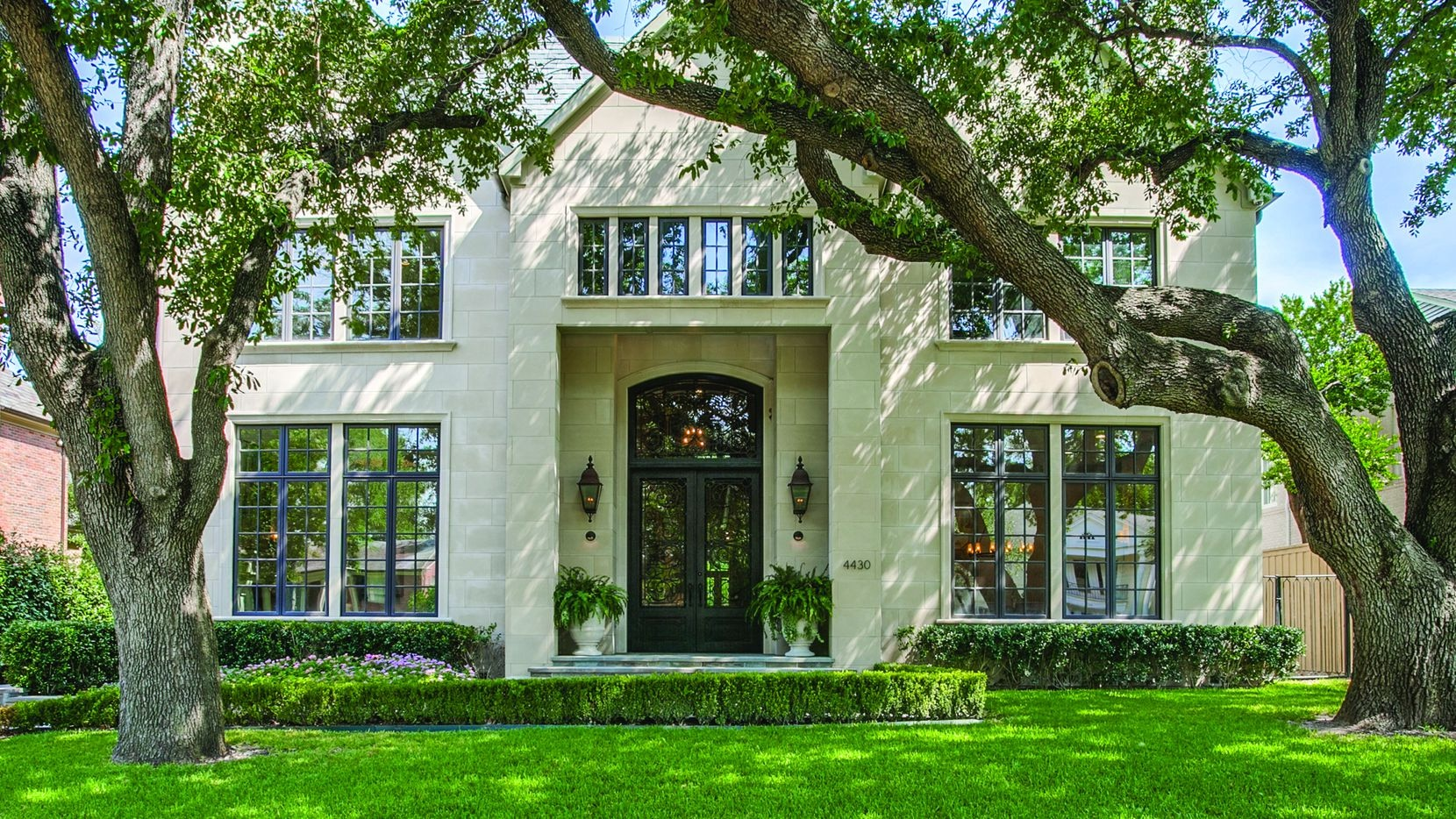 Allie Beth Allman & Associates recently represented the sellers and the buyer of the custom-built home at 4430 Arcady Ave. in Highland Park.