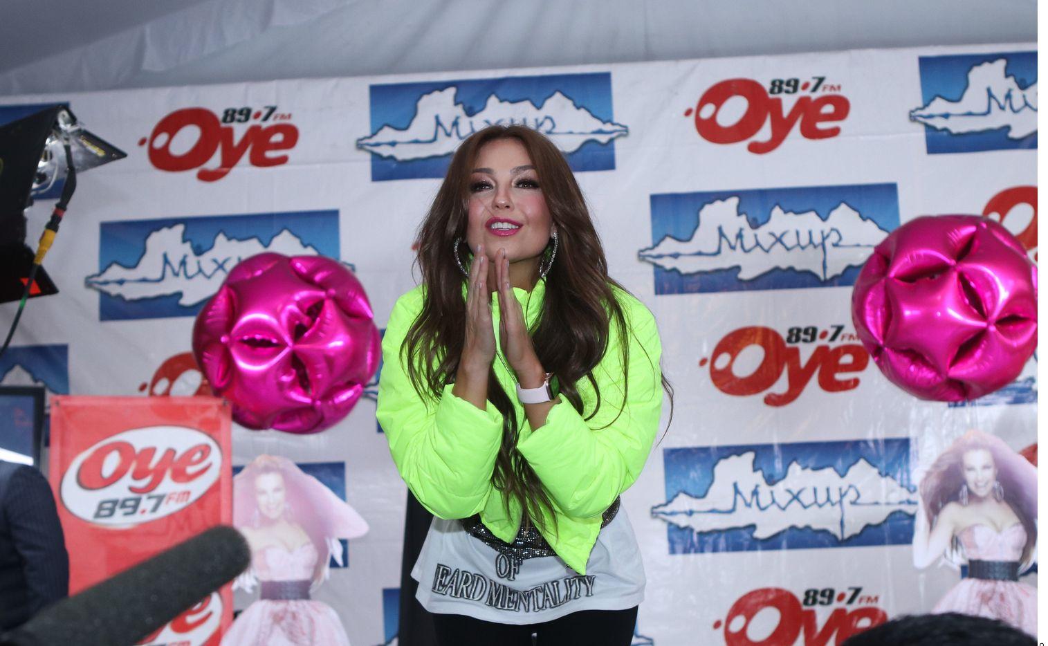 Thalía tiene dos hijos de su relación con Tommy Mottola.