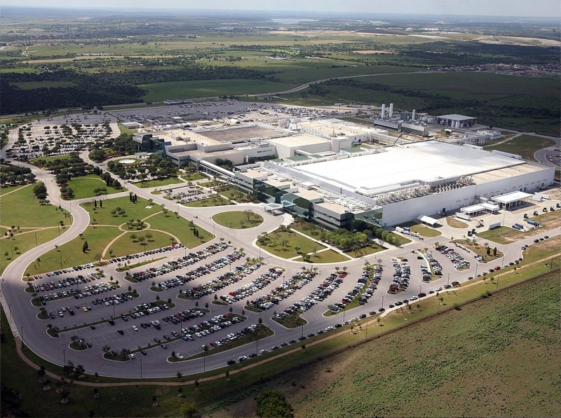 Samsung's massive chipmaking plant in Austin.