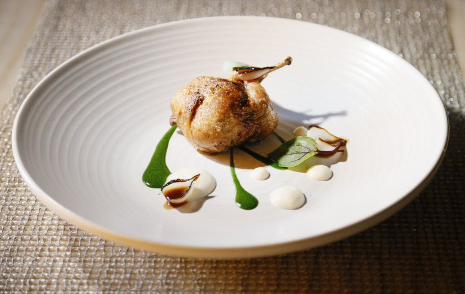 Here's a stylish quail dish from Casa Rubia back in 2014.