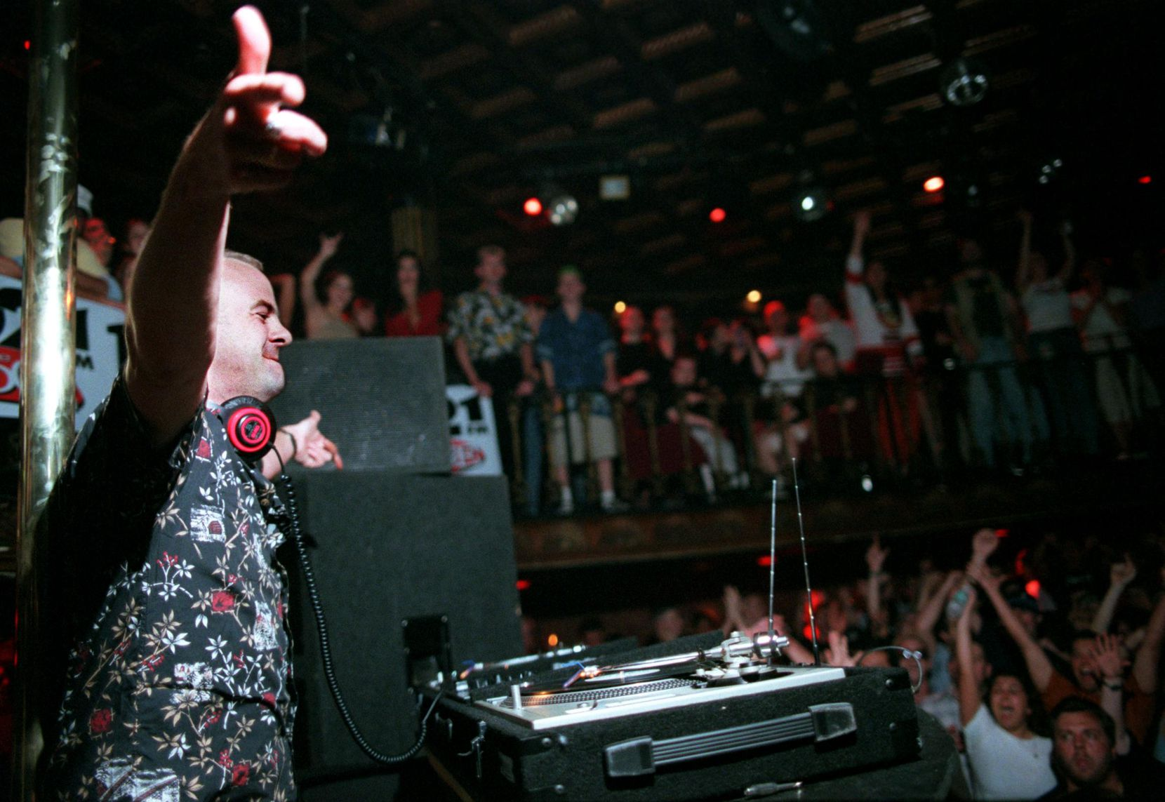 Fatboy Slim performs at Lizard Lounge in 2001.