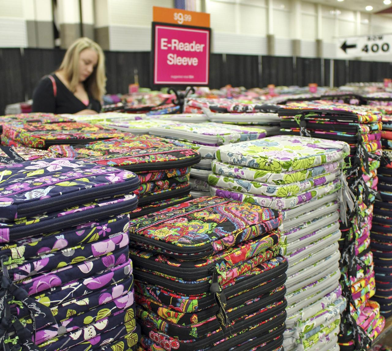 19. E-reader sleeves at the Vera Bradley outlet sale. (one long cutline for all three photos above and the large photo below. It's all the sam stuf... right?_Douglas