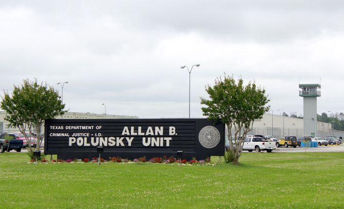 The Polunsky Unit, where death row inmates are held, is located in Livingston.