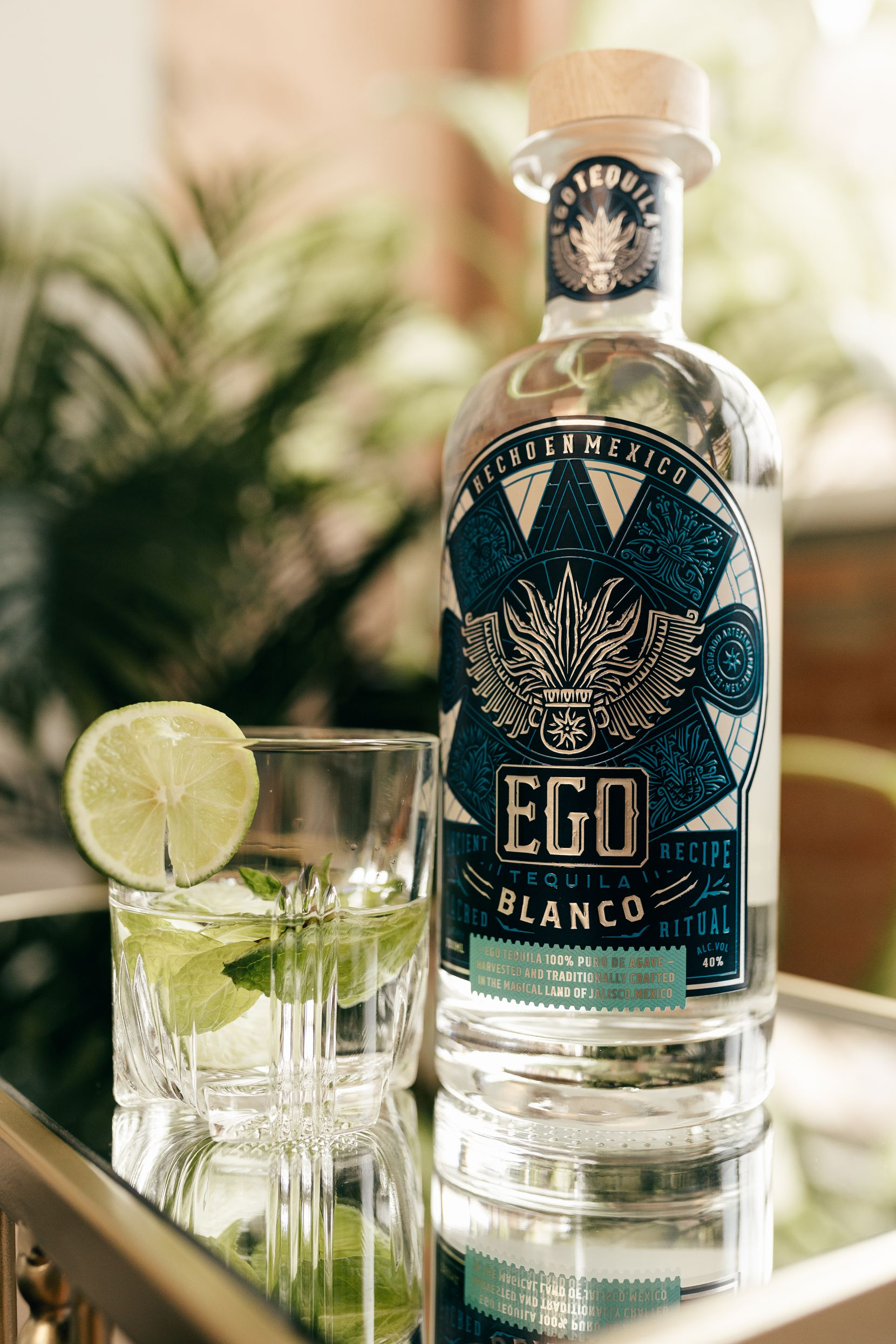 Rikki Kelly founded Ego Tequila in North Texas.