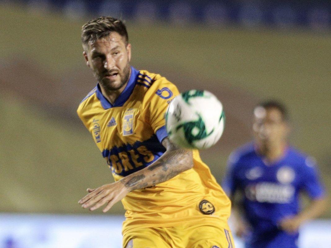 El delantero de Tigres, André-Pierre Gignac, suma nueve goles en los Clásicos Regios.