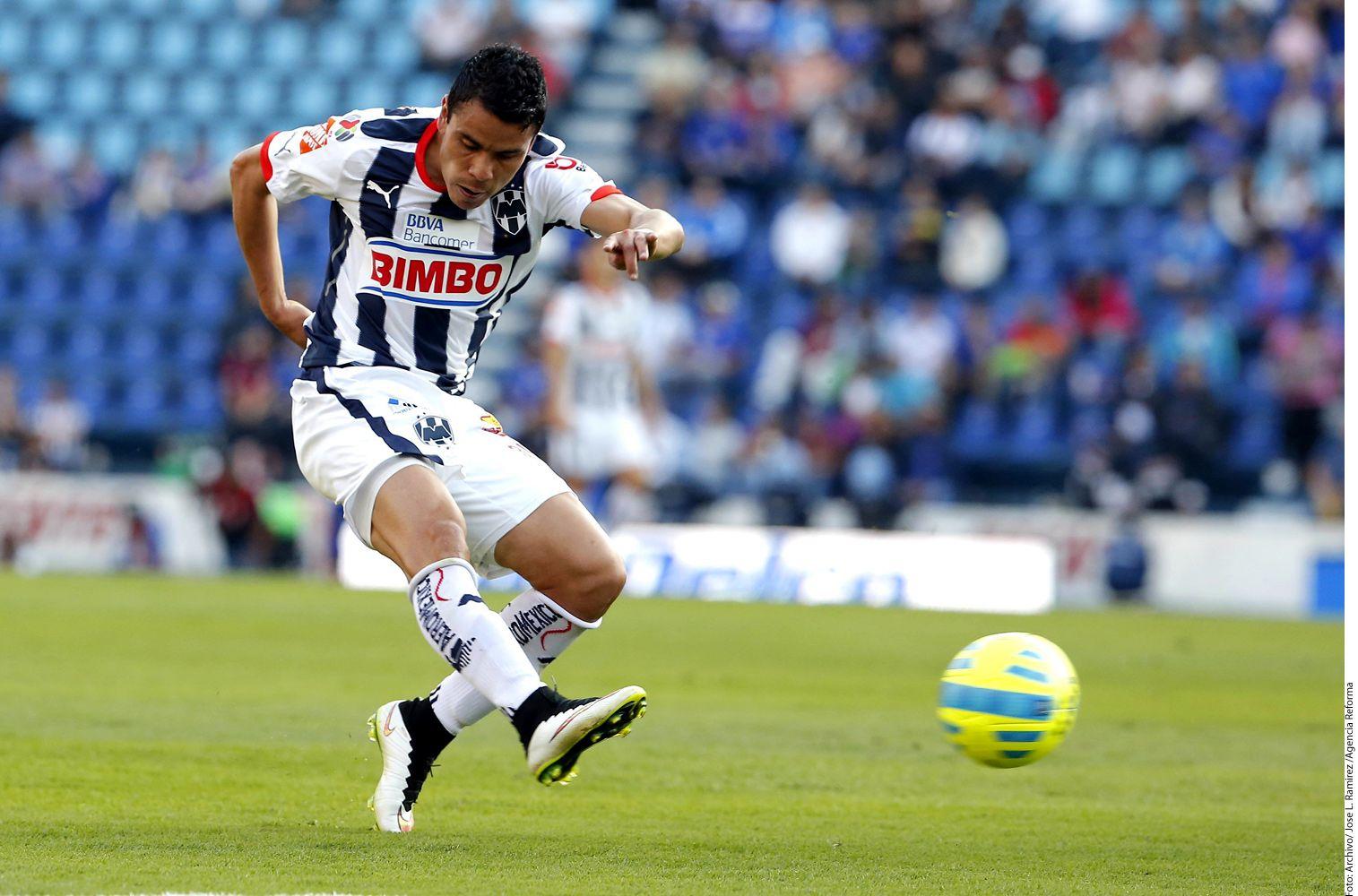 Pablo Barrera, de 28 años, pertenece al Monterrey. Foto AGENCIA REFORMA
