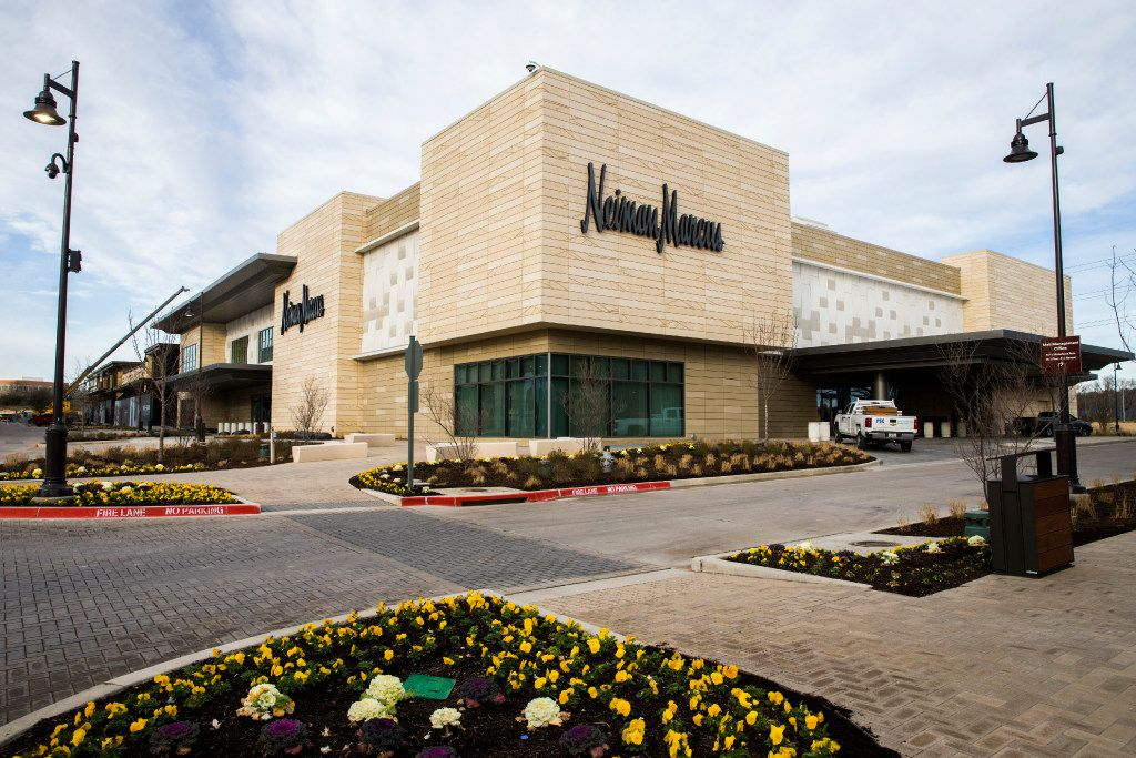 The exterior of a new Neiman Marcus store on Wednesday, February 8, 2017 at The Shops at Clearfork in Fort Worth, Texas. (Ashley Landis/The Dallas Morning News)