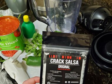 Amber Tinsley revived her company, Crack Salsa, after getting laid off during COVID-19.