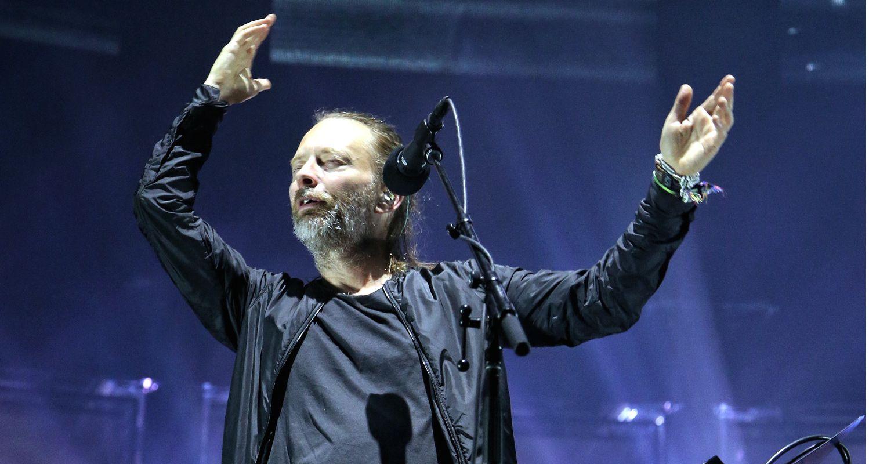 Thom Yorke, vocalista de Radiohead. AGENCIA REFORMA.