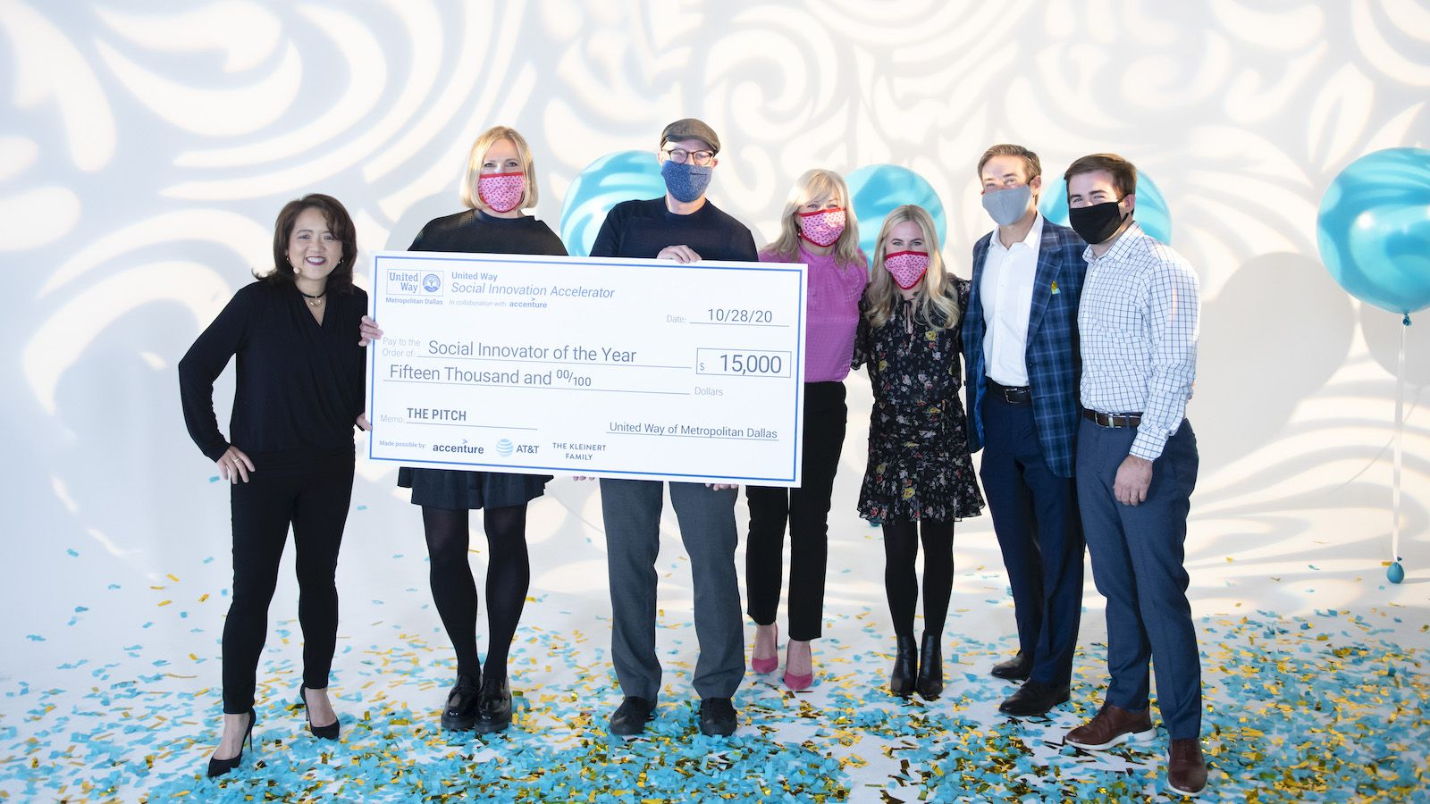Jason Roberts (third from left) founded Better Block in 2006. In October, the nonprofit was named United Way of Metropolitan Dallas Social Innovator of the Year.
