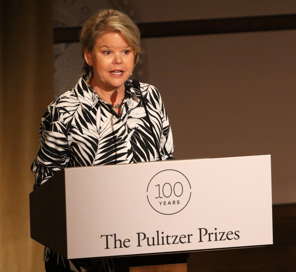 Keven Ann Willey served for nine years on the board of the Pulitzer Prizes, the top awards given out for journalistic excellence. (Irwin Thompson/The Dallas Morning News)