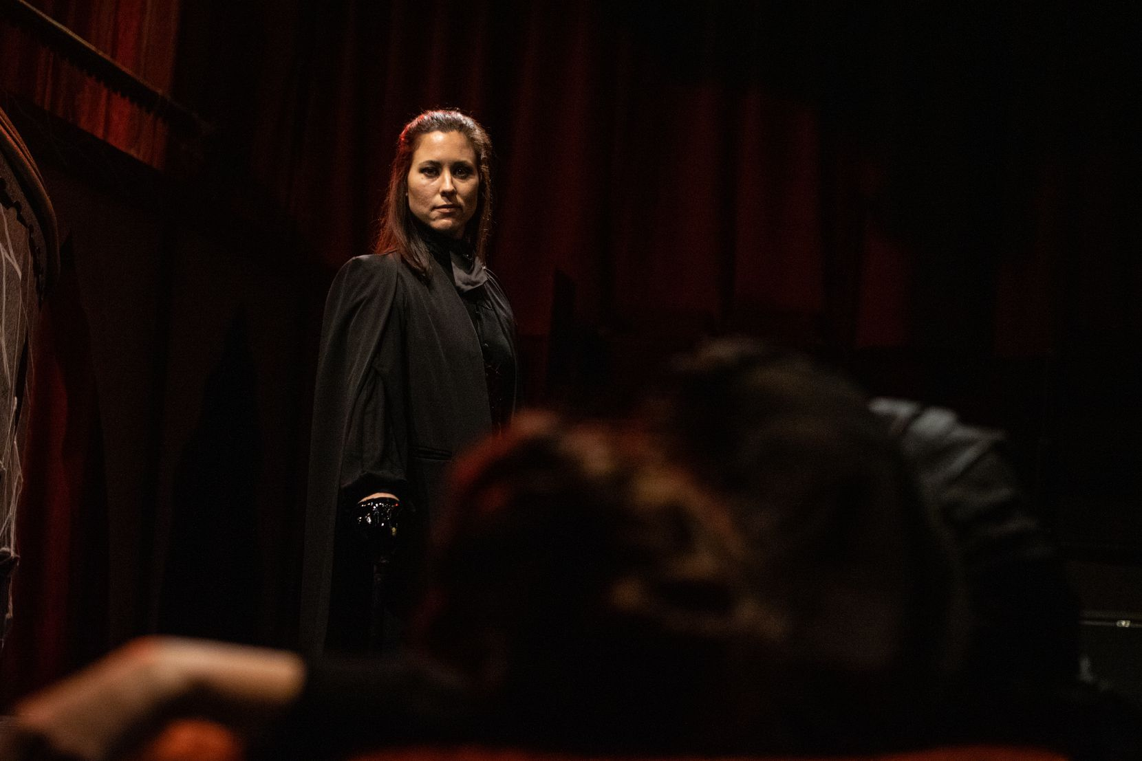 Allison Pistorius as she appeared in Dracula at Theatre Three, taken Oct. 2, 2019.