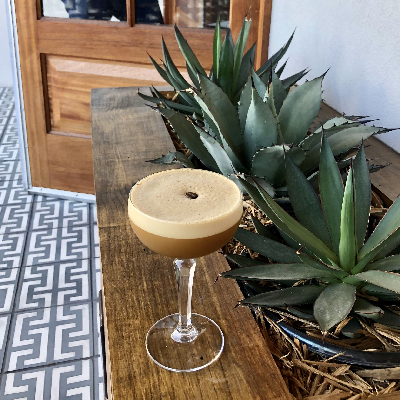 The Espresso Martinez at Xaman Cafe in Oak Cliff is a stunner.