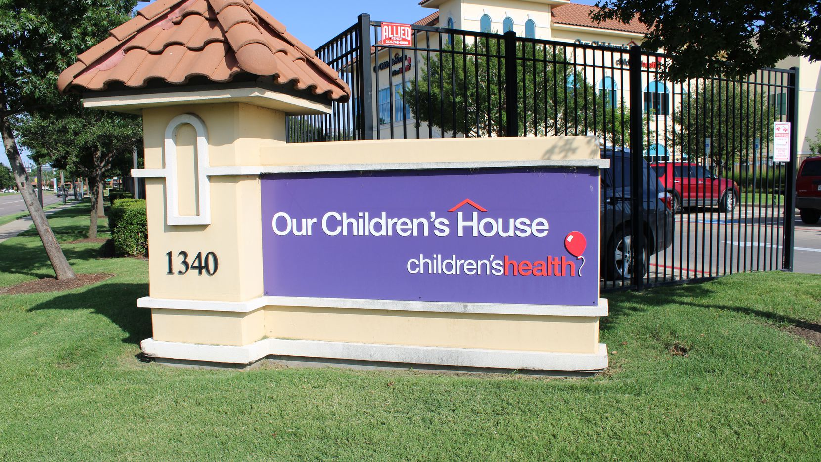 Lylah Baker, 4, is getting special care at Our Children's House Dallas after contracting a rare infection.