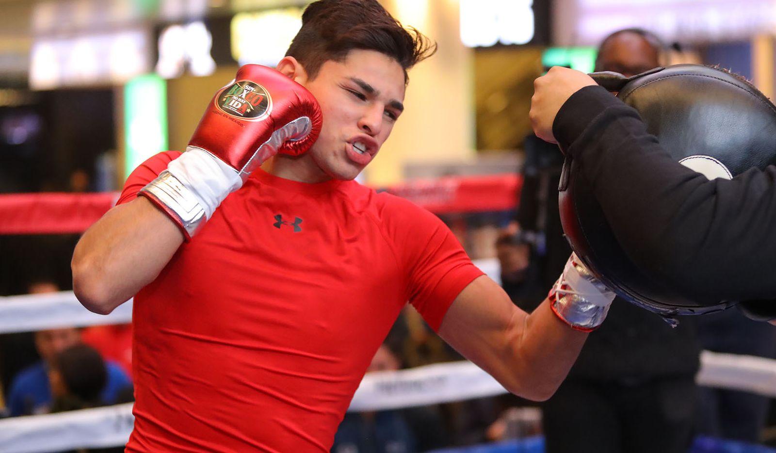 Ryan García ha entrenado fuerte para su pelea contra el británico Luke Campbell que se efectuara el 2 de enero en el America Airlines Center de Dallas.