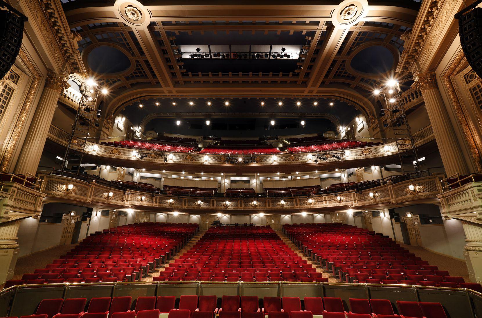 El histórico Majestic Theatre al parecer viene con su propio fantasma.