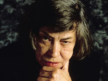 Writer Patricia Highsmith at a film festival in Sept. 1987 in Deauville, France.