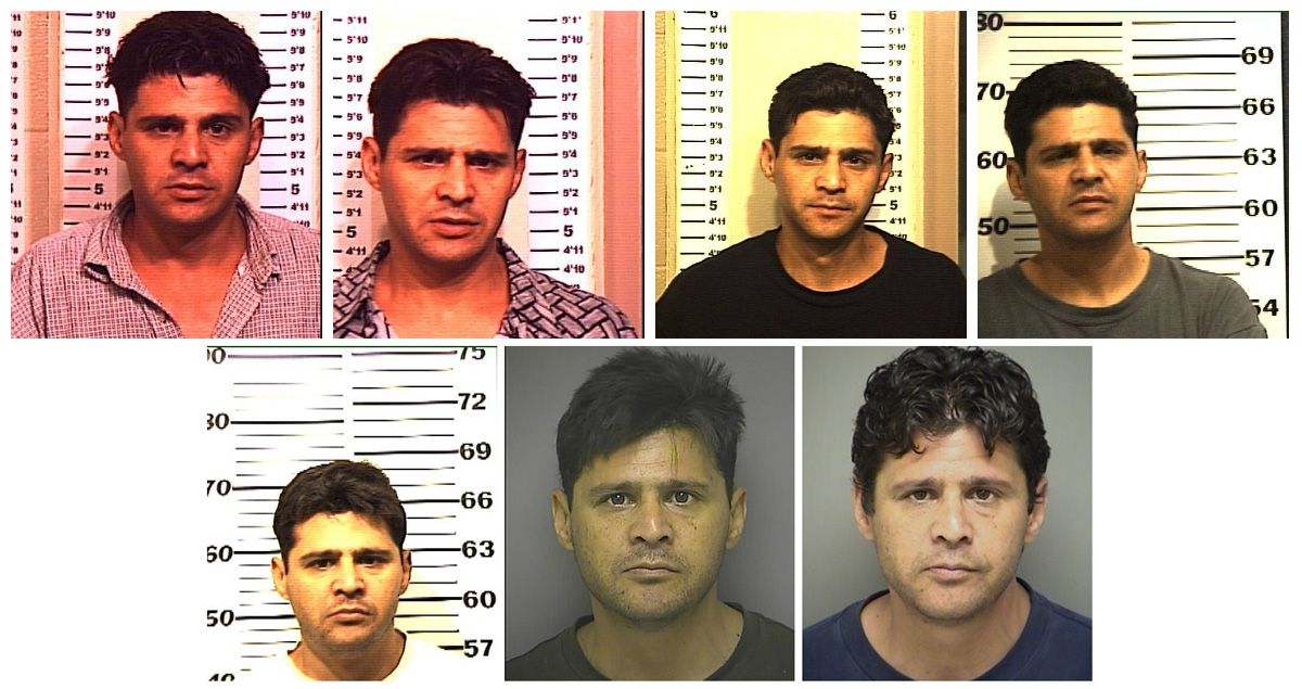 Rudy Garcia was arrested a number of times in Denton County.