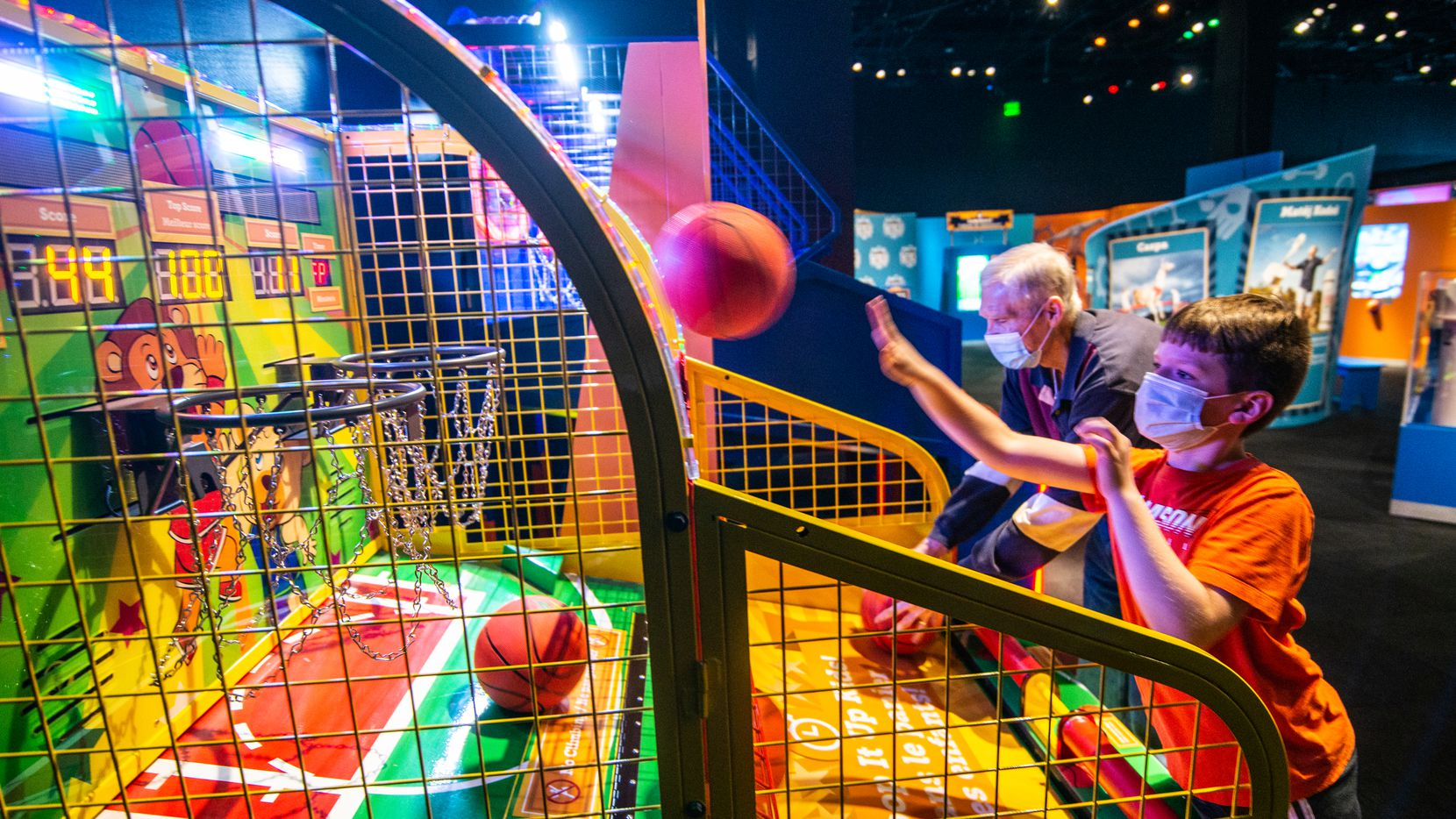 "Through Sept. 6, the Perot Museum of Nature and Science is displaying ""The Science of Guinness World Records."" The exhibit includes record-breaking items such as the largest Pac-Man video game, plus interactive challenges using science, sports and other skills."
