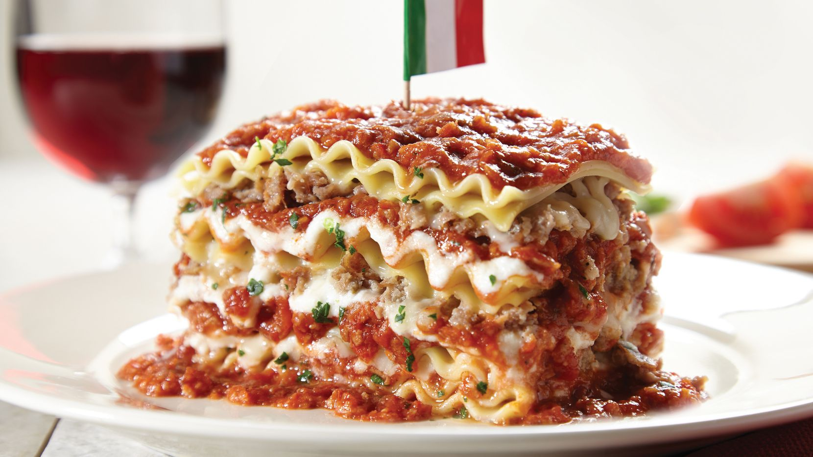 Spaghetti Warehouse's 15-layer lasagne is one of the most popular dishes. Go get a bite before the historic restaurant closes on Sunday, Oct. 20, 2019.
