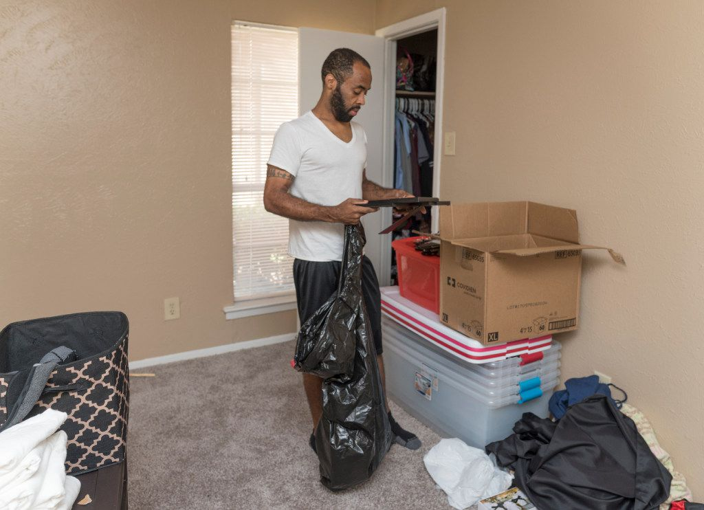 Bobo moved into a two-bedroom apartment in early September that he will pay for without the government's help.  He decided to leave the Section 8 program after not being able to find an acceptable apartment complex that would take his housing voucher.