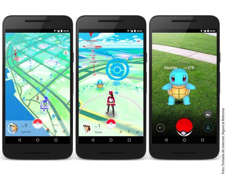 El juego Pokémon Go es uno de los más populares./AGENCIA REFORMA