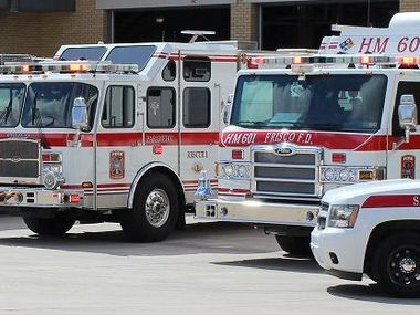 The Frisco Fire Department responded to a fire at an apartment complex this week.