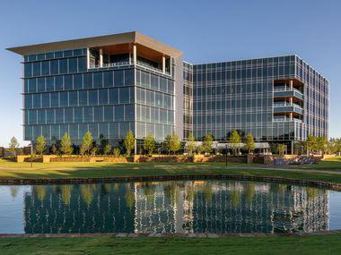 Architect SmithGroup designed Independent Bank's new McKinney headquarters.