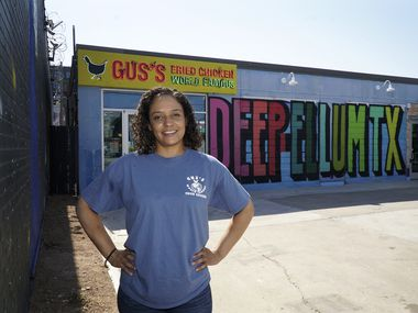 Gus's Fried Chicken General Manager Precilla Roberts, at her store in Dallas.