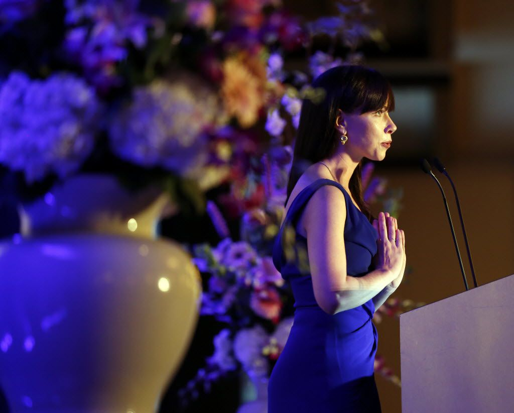 Barbara Pierce Bush, CEO and co-founder of Global Health Corps, spoke in downtown Dallas in April 2013. (File Photo/David Woo)