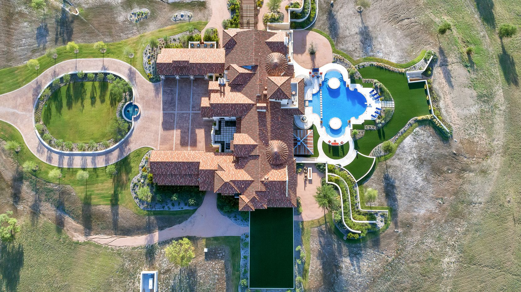 A look at the property on 107 Nueces Trail in Aledo, Texas.